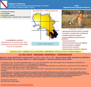 Campania Caccia Calendario Venatorio.Approvato Il Calendario Venatorio 2019 2020
