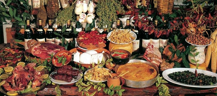 Elenco dei prodotti agroalimentari tradizionali la for Prodotti tipici di roma
